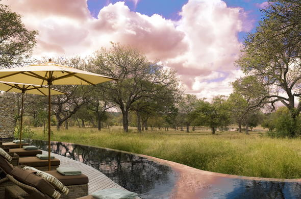 Scenic views at Makanyi Private Game Lodge.