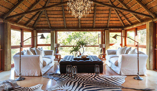 safari luxury at Waterbuck Private Camp.
